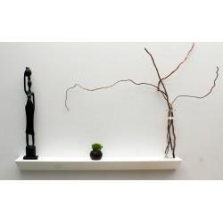 étagère murale blanche design 70 cm slend étagère moderne